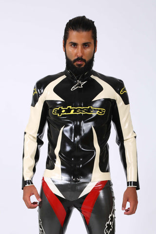 Rubber Latex Racing Jacket