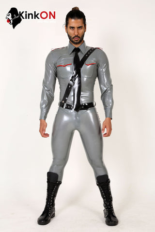 Rubber Long Sleeve Police Uniform