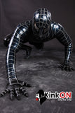 Rubber Black Spiderman Catsuit