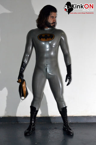 Retro Batman Rubber Catsuit
