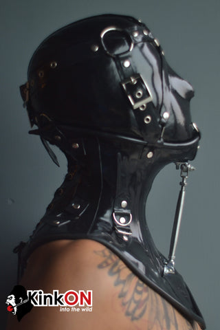 Rubber Neck Fetish Corset Brace