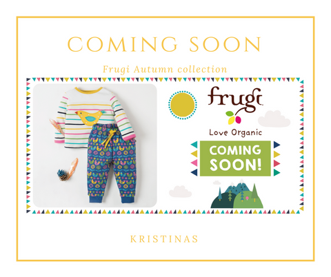 Frugi Autumn collection - Coming Soon!