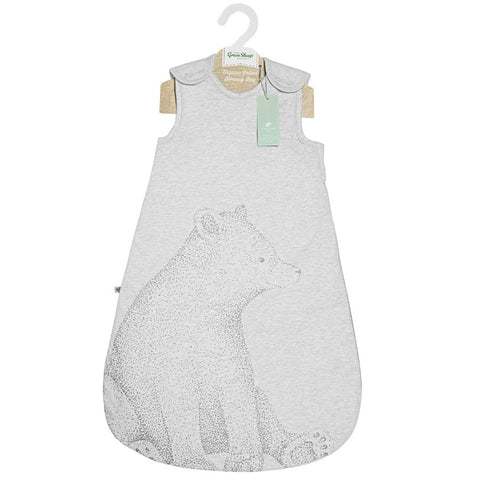 Wild Cotton Organic Sleeping Bag - 1.0 Tog - Bear