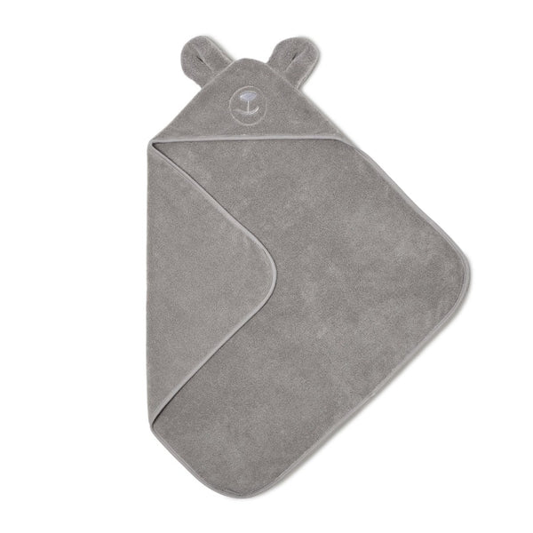 Hooded towel, bear design