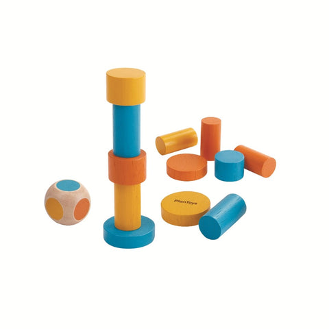 Stacking Puzzle Mini-Plan Toys