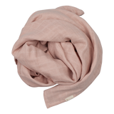 Swaddle Muslin 100% organic cotton in Mauve colour