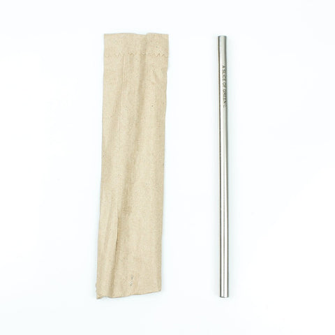 reusable aluminium straw
