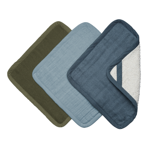 Washcloths 3 pack - Coastal
