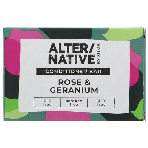 Rose & Geranium Conditioner Bar