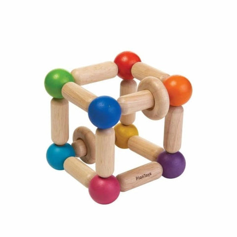 Square Clutching Toy - Plan Toys