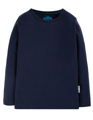 Long Sleeve everyday indigo tee