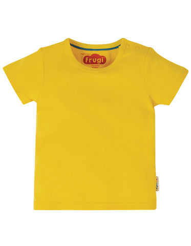 Short sleeved yellow tshirt