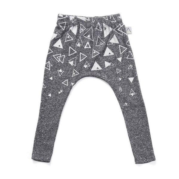 Nasha Kids Marengo Triangles Print Baby Unisex Pants