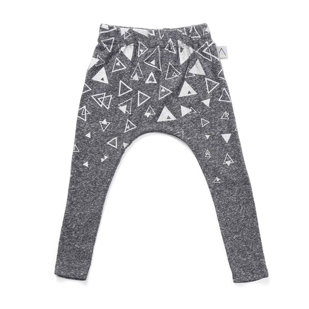 Nasha Kids Marengo Triangles Print Unisex Pants - Go Tell Mama