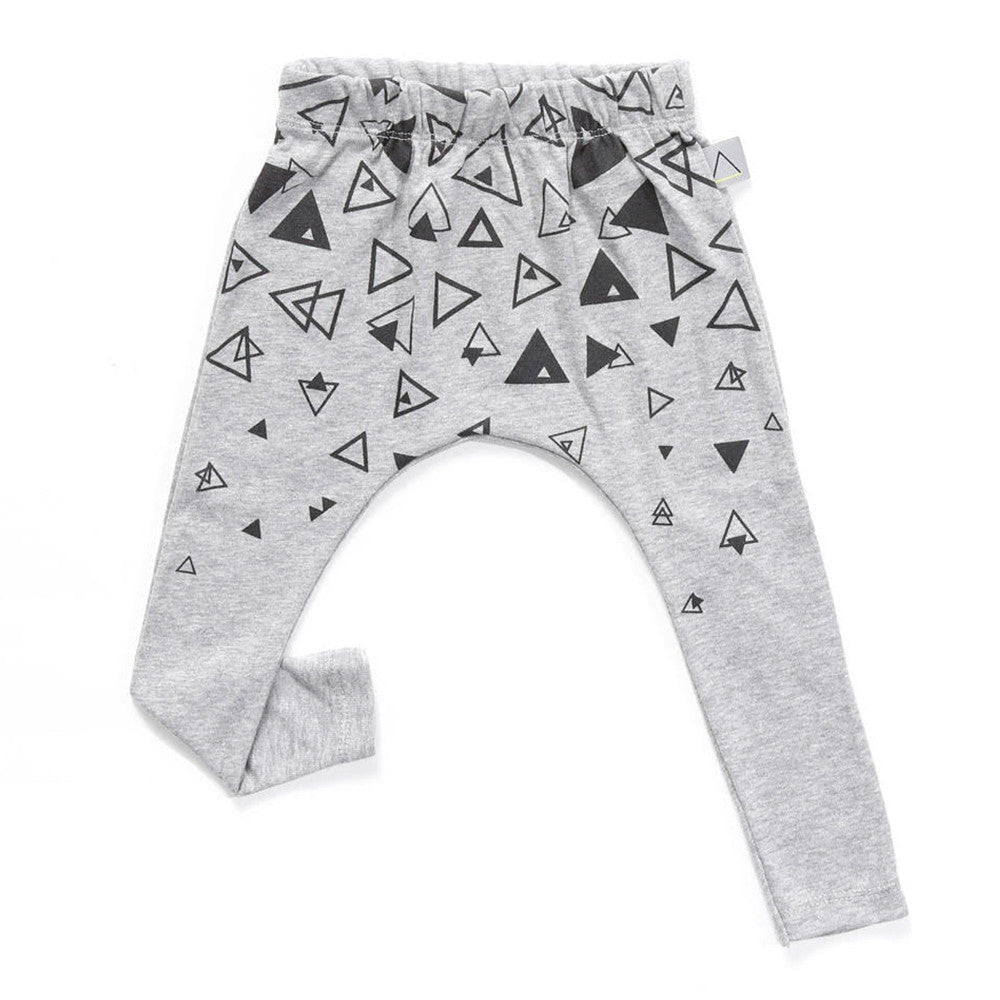 Nasha Kids Triangles Print Baby Unisex Pants - Go Tell Mama