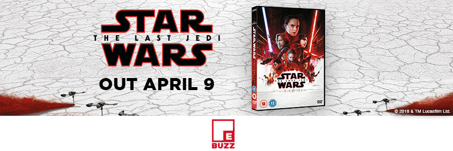 Pre-order Star Wars The Last Jedi from ebuzz.ie