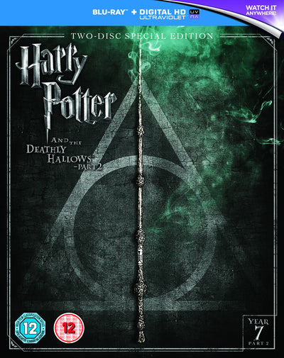 Harry Potter and the Deathly Hallows - Part 2 (2016 Edition) Blu-ray