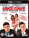 Mike And Dave Need Wedding Dates (4k Ultra Hd Blu-ray + Blu-ray + Digital Hd Uv Copy) Blu-ray