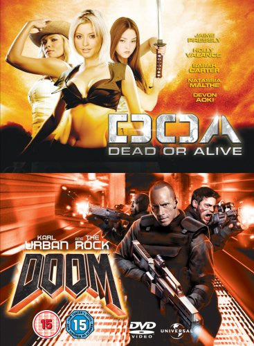 Doa Dead Or Alive Doom Dvd At Ebuzz Ie Online Dvd Store