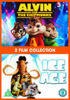 Alvin And The Chipmunks / Ice Age 1 Double Pack DVD
