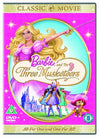Barbie and the Three Musketeers DVD
