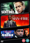 The Sentinel/Man On Fire/The Siege DVD