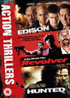 Action Thrillers (Edison  Revolver  The Hunted) DVD
