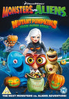 Monsters Vs Aliens: Mutant Pumpkins From Outer Space DVD