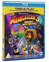 Madagascar 3: Europe's Most Wanted - Triple Play (Blu-ray + DVD + Digital Copy) [Region Free] Blu-ray
