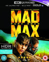 Mad Max: Fury Road (4k Ultra Hd Blu-ray) Blu-ray