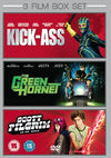 3 Film Box Set: Green Hornet / Kick Ass / Scott Pilgrim Vs The World DVD