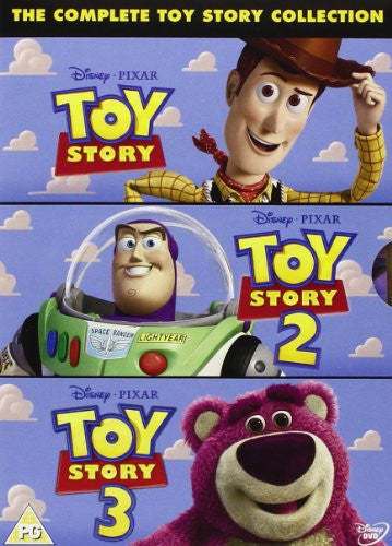 The Complete Toy Story Collection: Toy Story / Toy Story 2 / Toy Story 3 DVD
