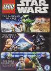 Star Wars Lego - Padawan Menace/The Empire Strikes out/The Yoda Chronicles DVD