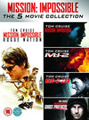 Mission Impossible 1-5 DVD