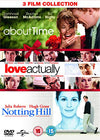About Time / Love Actually / Notting Hill (Triple Pack) DVD