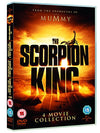 The Scorpion King/The Scorpion King: Rise Of A Warrior/The Scorpion King 3: Battle For Redemption/The Scorpion King 4: Quest For Power  [2015] DVD