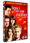 How I Met Your Mother - Season 3-4 DVD