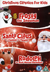 Christmas classics for kids frosty the snowman Santa Claus is comin' to town Rudolph the red-nosed reindeer DVD