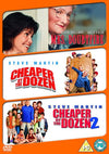 Cheaper By The Dozen/Cheaper By The Dozen 2/Mrs Doubtfire DVD