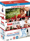 About Time/love Actually/notting Hill (triple Pack)  [region Free] Blu-ray
