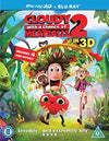 Cloudy with a Chance of Meatballs 2: Revenge of the Leftovers [Blu-ray 3D + Blu-ray] [2013] [Region Free] Blu-ray