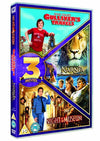 Gulliver's Travels/ The Chronicles of Narnia: The Voyage of the Dawn Treader/ Night at the Museum Triple Pack  [2006] DVD