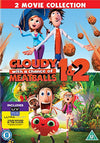 Cloudy With A Chance Of Meatballs 1-2 DVD