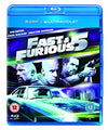 Fast Five  [Region Free] Blu-ray