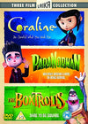 Coraline / Paranorman / The Boxtrolls DVD
