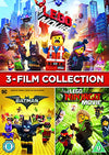 Lego Three Film Collection DVD