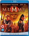 The Mummy: Tomb of the Dragon Emperor  [Region Free] Blu-ray