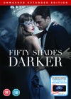 Fifty Shades Darker [Unmasked Edition, DVD + Digital download] DVD