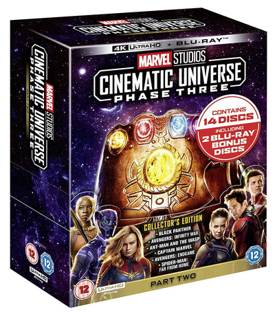 Marvel Studios Collector's Edition Box Set - Phase 3 Part 2 [4K]