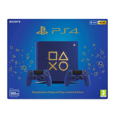 Sony PS4 500GB Limited Edition Console (Days of Play)